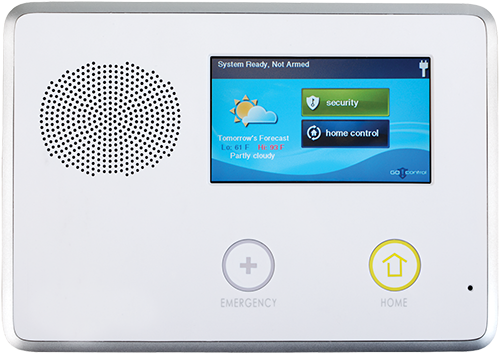 Houston Home Security Services - control panel